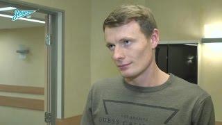 Евгений Чернов на «Зенит-ТВ»: «Отпуск провел отлично»