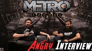 Metro: Exodus  - AngryJoe Interview E3 2018!