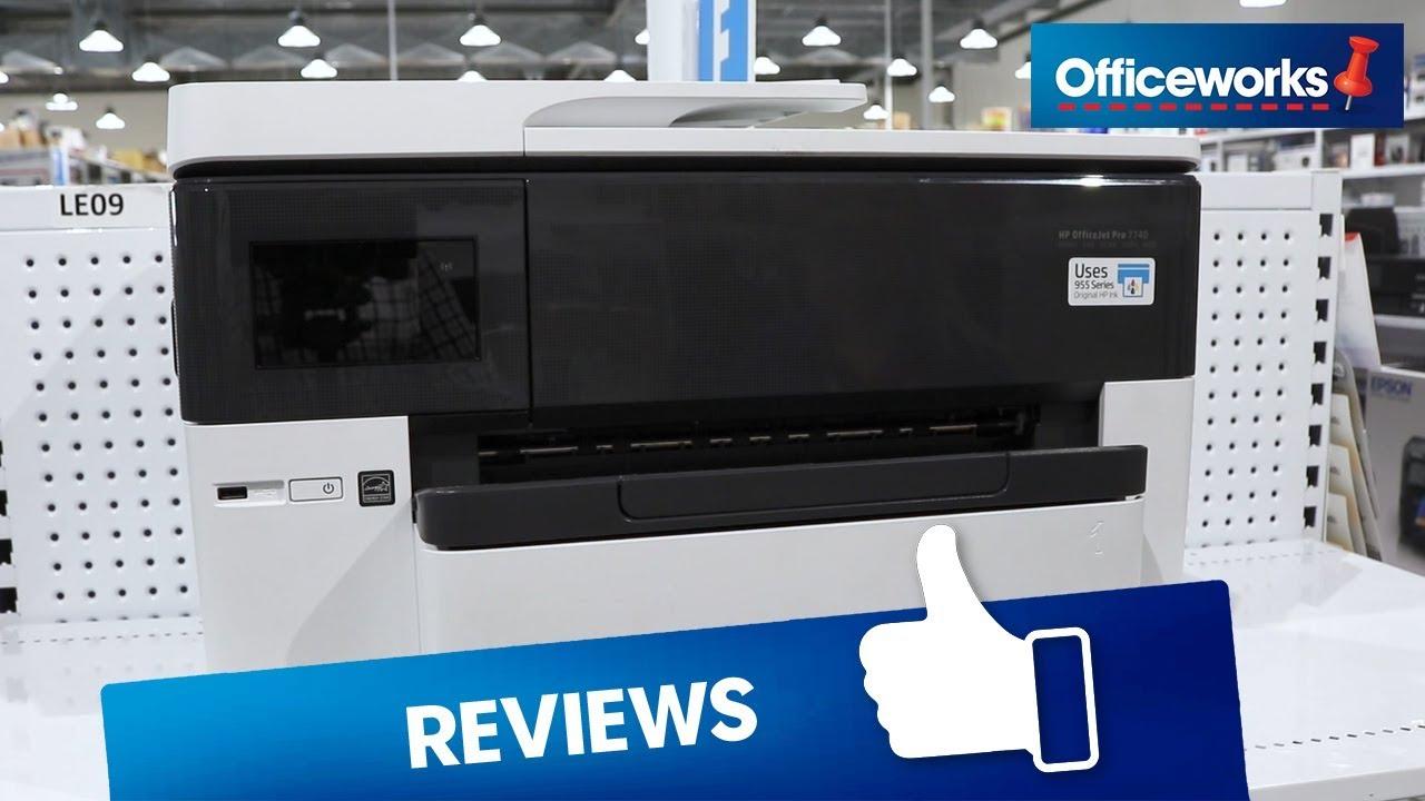 HP OfficeJet Pro Wireless A3 Inkjet MFC Printer 7740