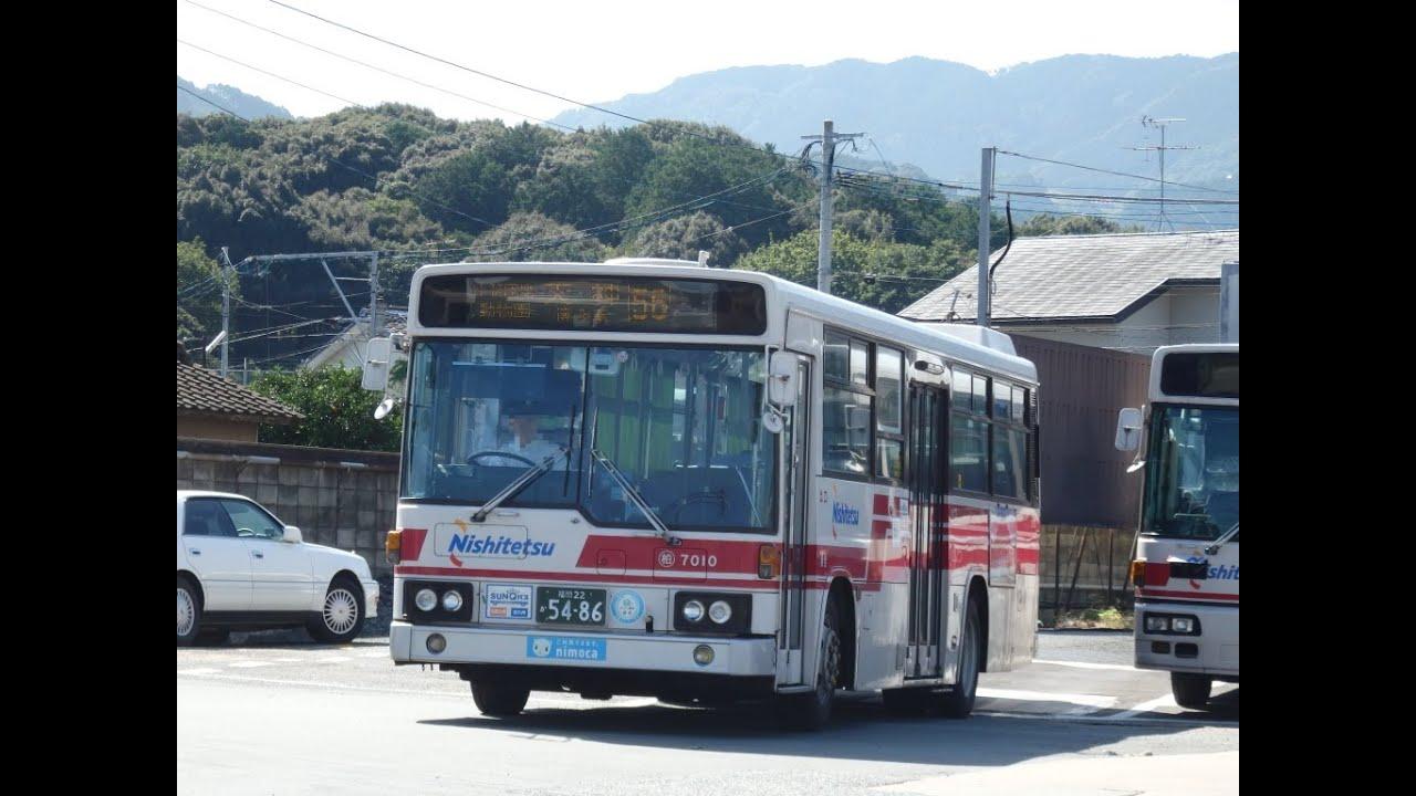 西鉄バス(柏原7010:西鉄桧原営業所→博多駅) - YouTube