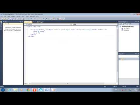 การเขียนโปรแกรมแม่สูตรคุณ  VB 2010