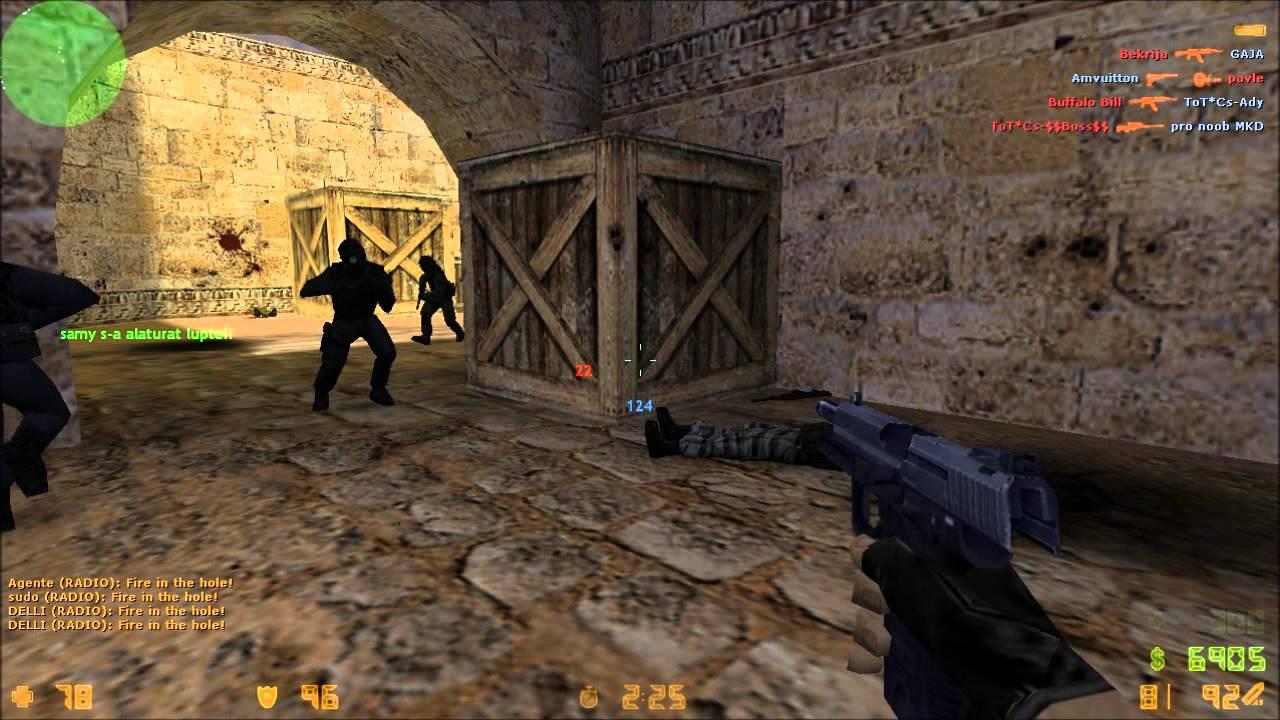 counter strike 1.6 de_dust2