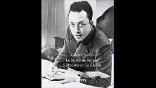 Günter Buhles Le Mythe de Sisyphe 5 Miniaturen für Klavier Helena Buckmayer 1998