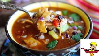 Lazy Man's Chicken Tortilla Soup