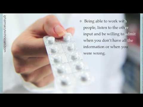 Pharmacy Technician Skills