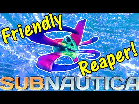 Let's Play Subnautica #33: Friendly Reaper!