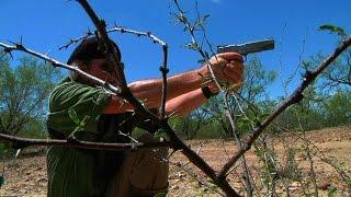 Hog Hunting with 10mm auto handgun & bow