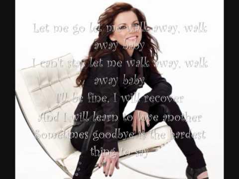 Martina Mcbride- Walk Away (with lyrics)