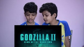 GODZILLA 2 Trailer Reaction By IndianTwins Filmy  (NEW 2019) King of the Monsters,