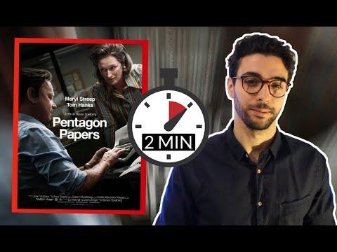 Pentagon Papers - critique en 2min