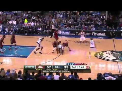 Miami Heat vs Dallas Mavericks Highlights (Chritmas Day 2011-2012)