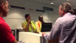 Angry Passengers revolt at Nassau International Airport