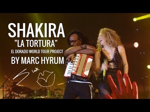 "Shakira ""La Tortura"" El Dorado World Tour Project  DVD Restored"