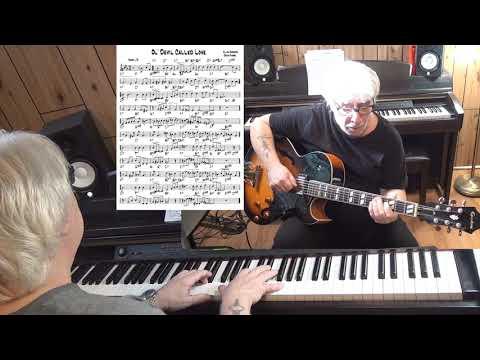 Ol' Devil Called Love - Jazz guitar & piano cover ( Allan Roberts & Doris Fisher )