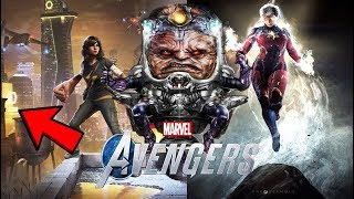 Marvel Avengers Game - MAIN VILLAIN REVEALED WITH EVIDENCE! SPIDER-MAN PS4 CROSSOVER CONFIRMED!?