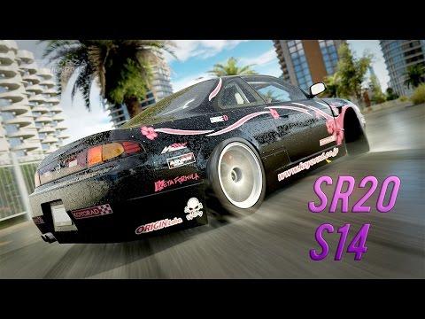 SR20-POWERED ROCKET BUNNY S14 SILVIA (Drift Build/Tune) - BDK Live | Forza Horizon 3