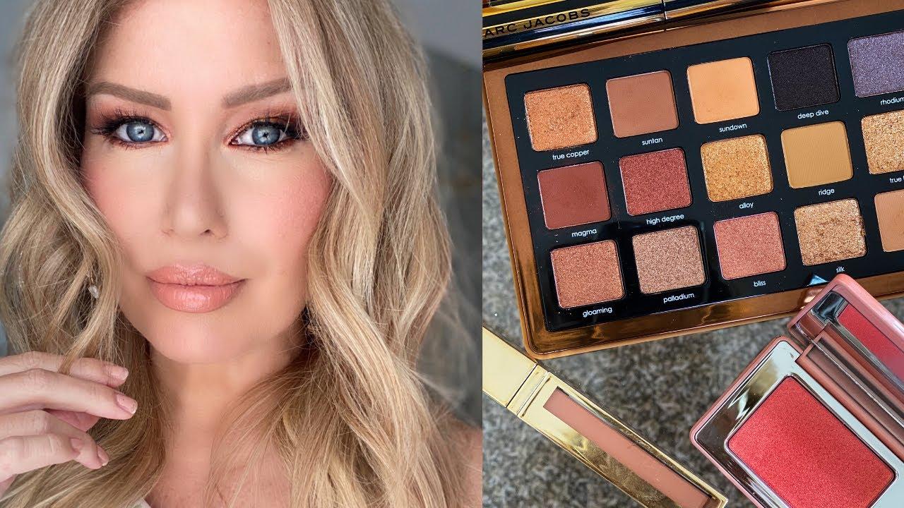 NEW MAKEUP TRY ON | Natasha Denona Bronze Palette, Scott Barnes Lip Products And More!