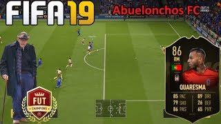 ABUELONCHOS FC - Los garbanzos se vuelven IF || FIFA 19 FUT Champions Español