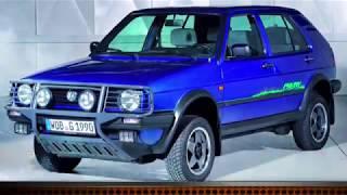 Най-редките версии на VW Golf