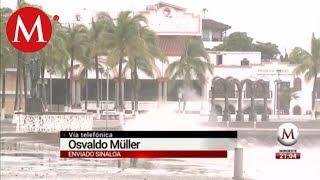 Huracán 'Willa' toca tierra en Sinaloa