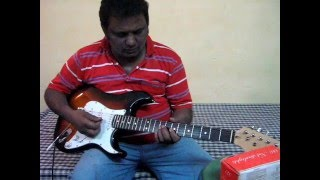 ajeeb dastan hai yeh guitar instrumental by james