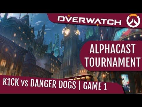 DangerDogs vs K1ck - AlphaCast #2 - G1