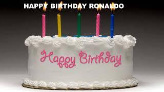 Ronaldo - Cakes Pasteles_1314 - Happy Birthday