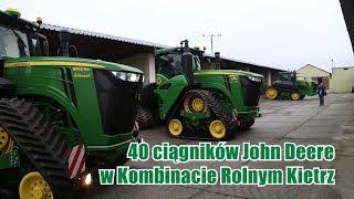 40 ciągników John Deere w 1 gospodarstwie - Kombinat Rolny Kietrz