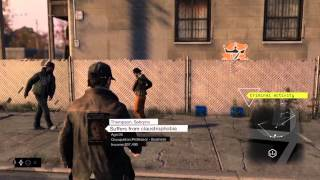 watch Dogs (PS3/PS4) 14 Minutes of Gameplay