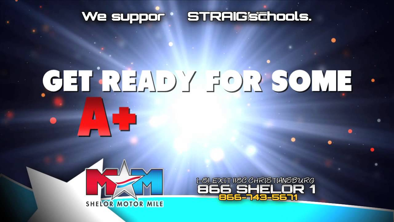 Shelor motor mile back to school used car sell down youtube for Shelor motor mile com