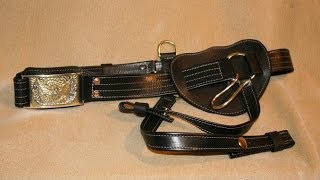 Civil War Officers Leather Sword Belts and other belts.