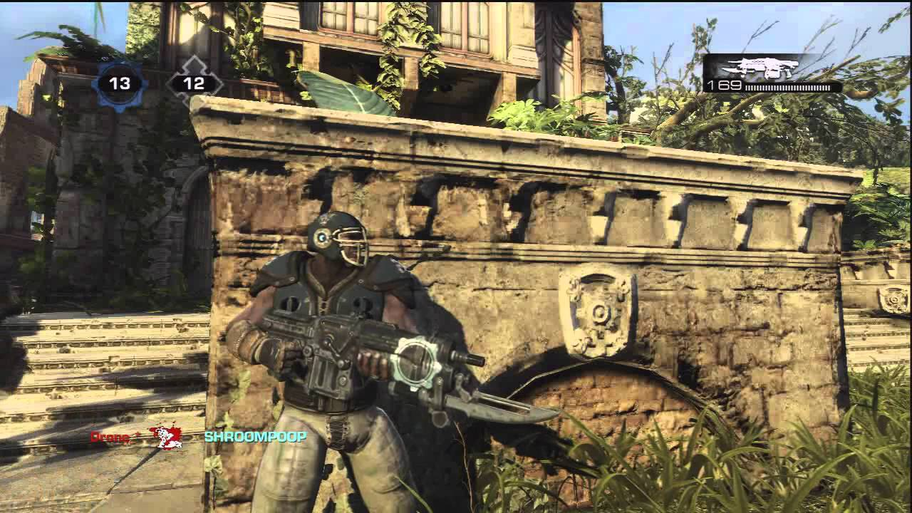 GEARS OF WAR 3 - WEAPON SKINS 15 - TEAM INSIGNIA (UNLOCKABLE) - YouTube