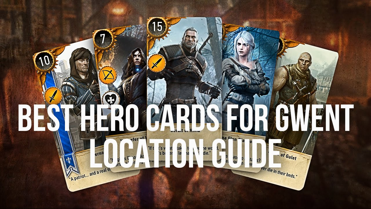 Gwent card locations the witcher 3 - Gwent Card Locations The Witcher 3 8