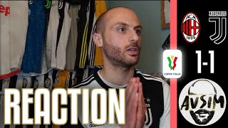 Milan-Juventus 1-1 live reaction ||| Avsim Live