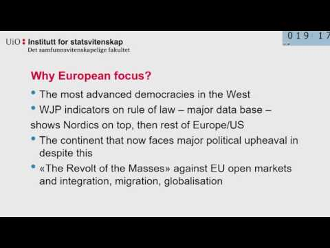 6  Janne Matlary   Political Participation in Europe  What is Required