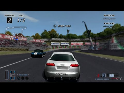 Gran Turismo 4 - Audi Nuvolari quattro HD PS2 Gameplay