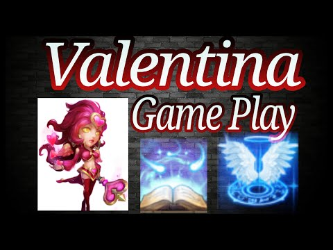 Valentina New Amazing Game Play Video Castle Clash
