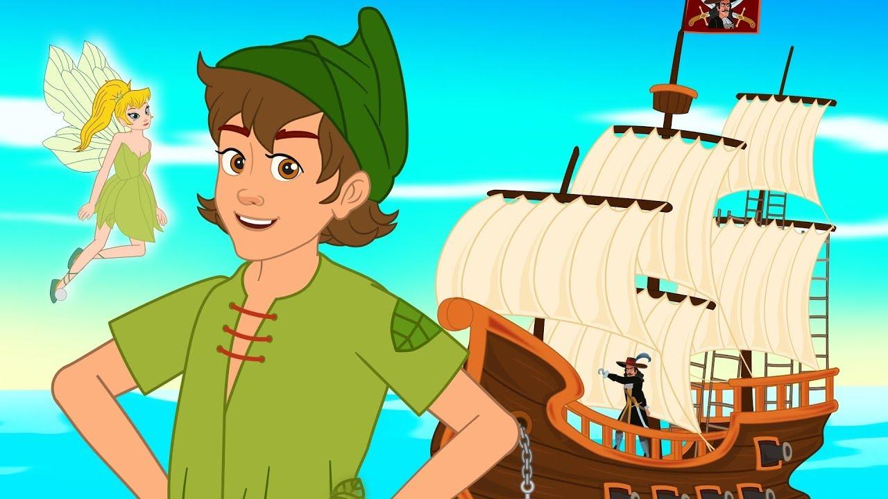 Peter Pan + O Livro da Selva | desenho animado | 2 contos com os ...