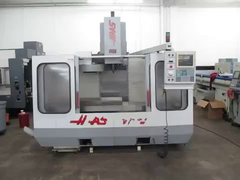 Haas VF 3 CNC Vertical Machining Center, FOR SALE AT MACHINESUSED.COM