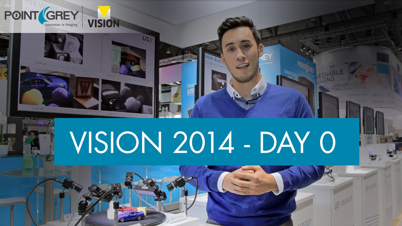 Point Grey at VISION 2014 Day 0: USB3 Vision vs  GigE Vision