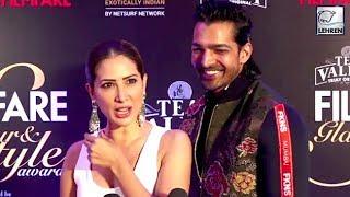 Kim Sharma's Dumb Reaction On Valentine's Day   Filmfare Glamour And Style Awards 2019   LehrenTV