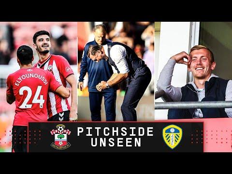 PITCHSIDE UNSEEN: Southampton 1-0 Leeds United | Premier League