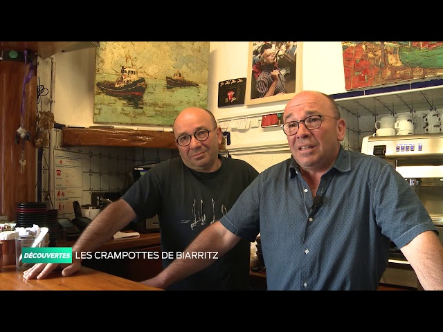 Découvertes - Les « crampottes » du port de pêcheur de Biarritz