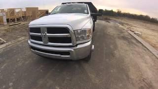 2016 Ram 3500 Chassis Monroe Dump Truck