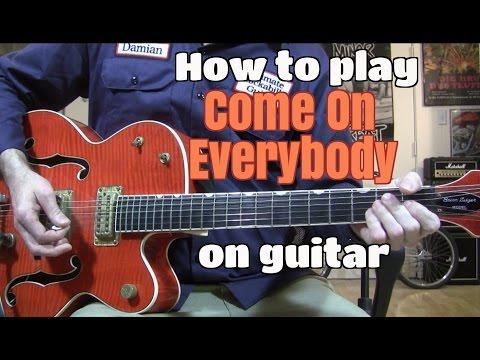 Cmon Everybody Chords By Eddie Cochran Worship Chords