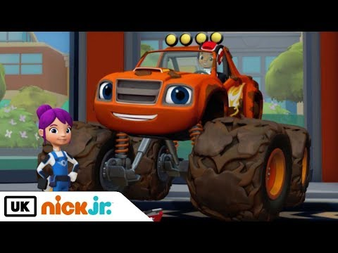 Blaze and the Monster Machines | Trouble at the Truck Wash | Nick Jr. UK
