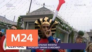 Иностранные туристы отметили с москвичами День России - Москва 24