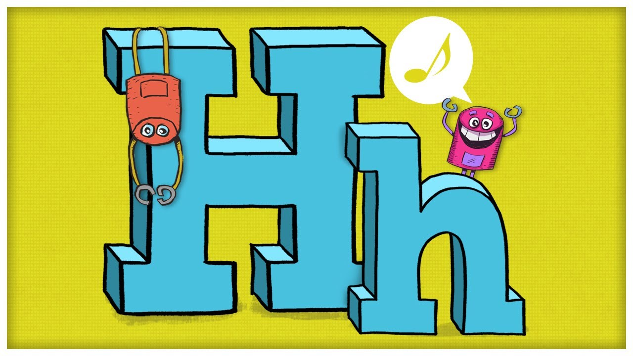 Abc song the letter h say hello to your good friend h by abc song the letter h say hello to your good friend h by storybots youtube thecheapjerseys