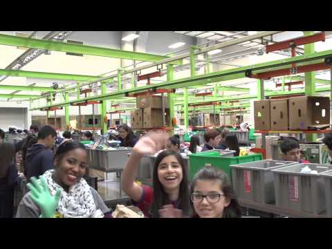 Harmony Public Schools Volunteer at Houston Food Bank