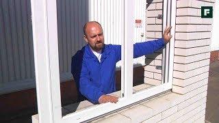 видео Монтаж оконных и дверных блоков |